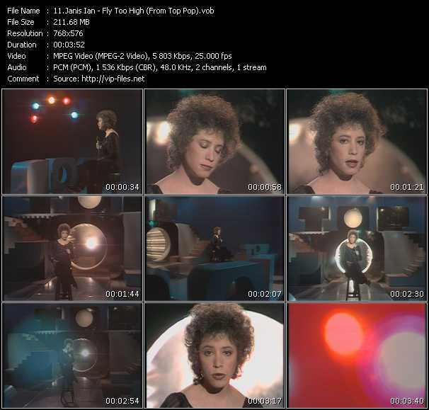 Janis Ian - Fly Too High (From Top Pop)