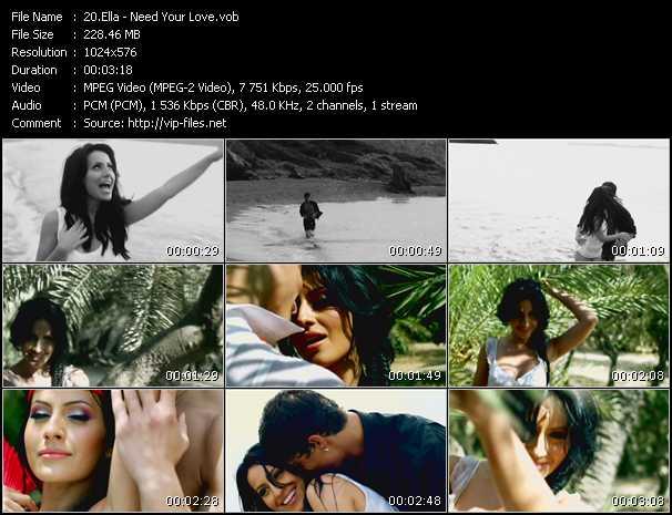 Ella - Need Your Love