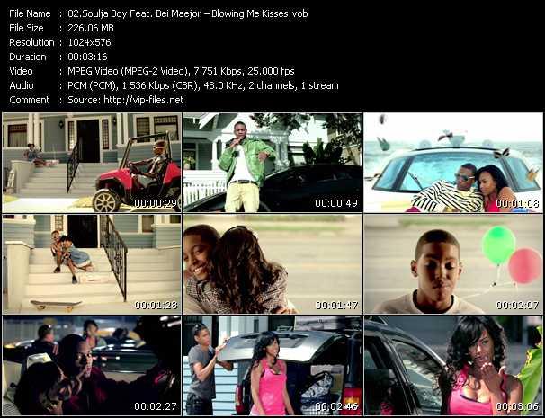 Soulja Boy Tell 'Em Feat. Bei Maejor - Blowing Me Kisses