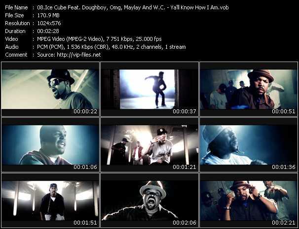 Ice Cube Feat. Doughboy, Omg, Maylay And W.C. - Ya'll Know How I Am