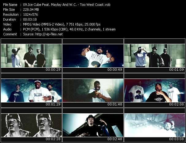 Ice Cube Feat. Maylay And W.C. - Too West Coast
