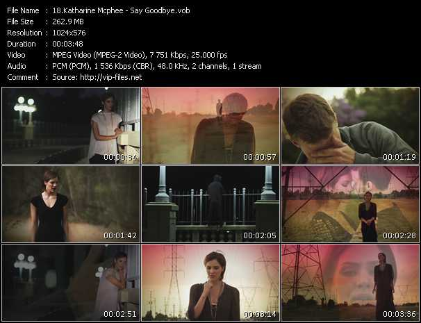 Katharine Mcphee - Say Goodbye