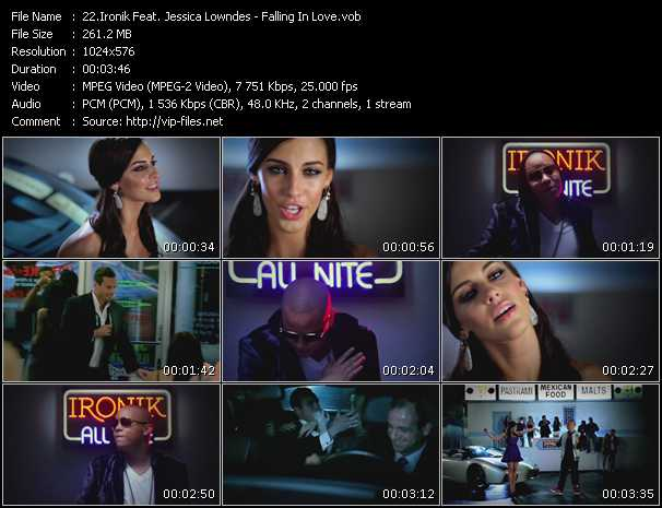 Ironik Feat. Jessica Lowndes - Falling In Love