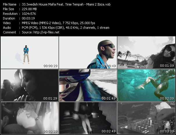 Swedish House Mafia Feat. Tinie Tempah - Miami 2 Ibiza