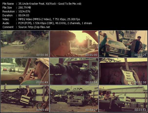 Uncle Kracker Feat. Kid Rock - Good To Be Me