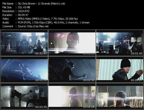 Chris Brown - 12 Strands (Matrix)