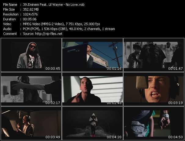 Eminem Feat. Lil' Wayne - No Love