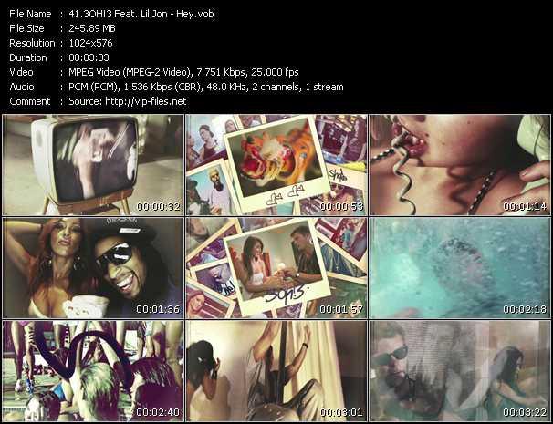 3oh!3 Feat. Lil' Jon - Hey