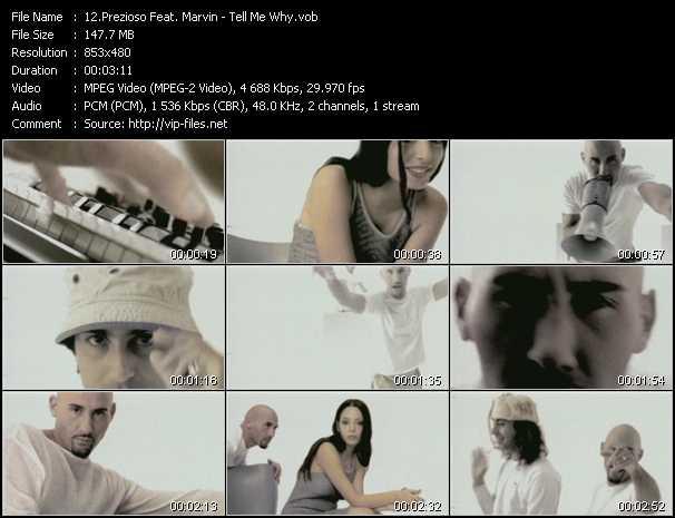 Prezioso And Marvin (Prezioso Feat. Marvin) - Tell Me Why