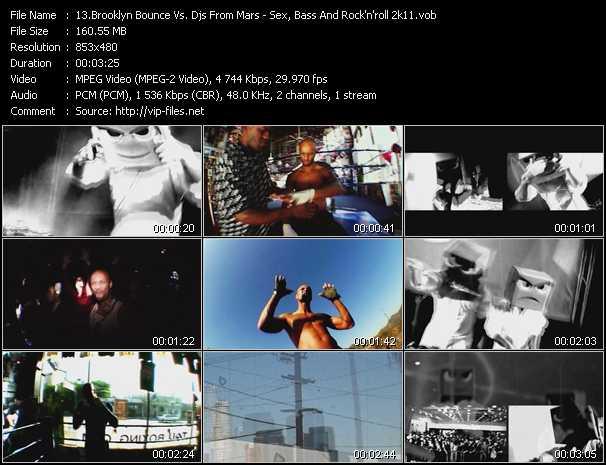 Brooklyn Bounce Vs. Djs From Mars - Sex, Bass And Rock'n'roll 2k11