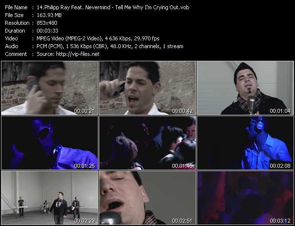 Philipp Ray Feat. Nevermind - Tell Me Why I'm Crying Out