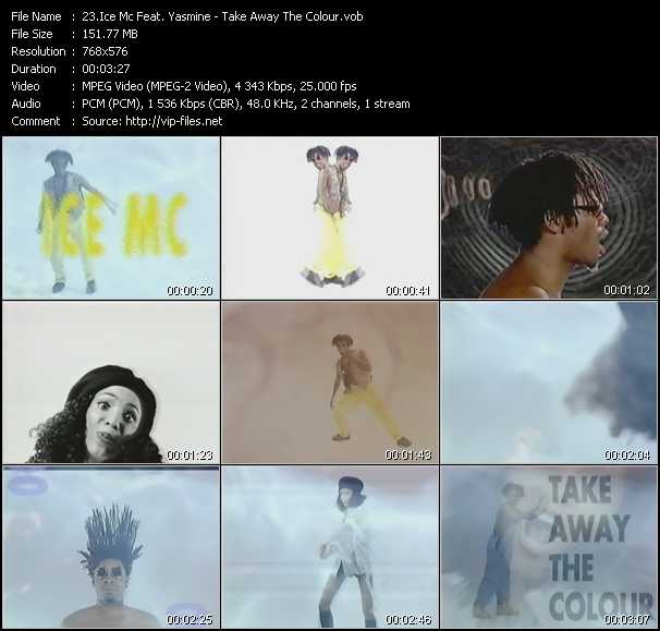 Ice MC Feat. Yasmine - Take Away The Colour