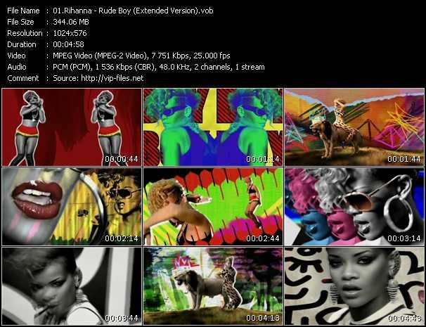 Rihanna - Rude Boy (Extended Version)