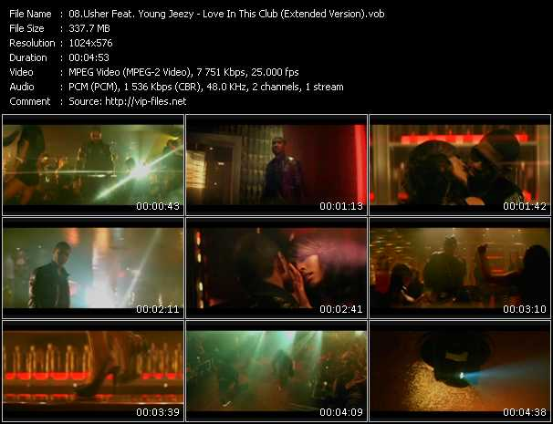 Usher Feat. Young Jeezy - Love In This Club (Extended Version)