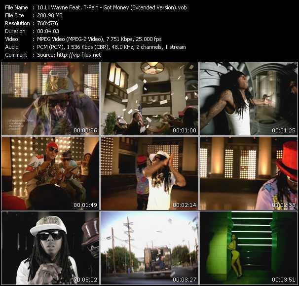 Lil' Wayne Feat. T-Pain - Got Money (Extended Version)
