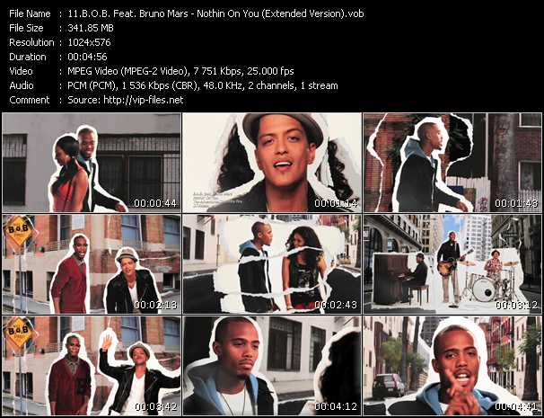 B.O.B. Feat. Bruno Mars - Nothin On You (Extended Version)