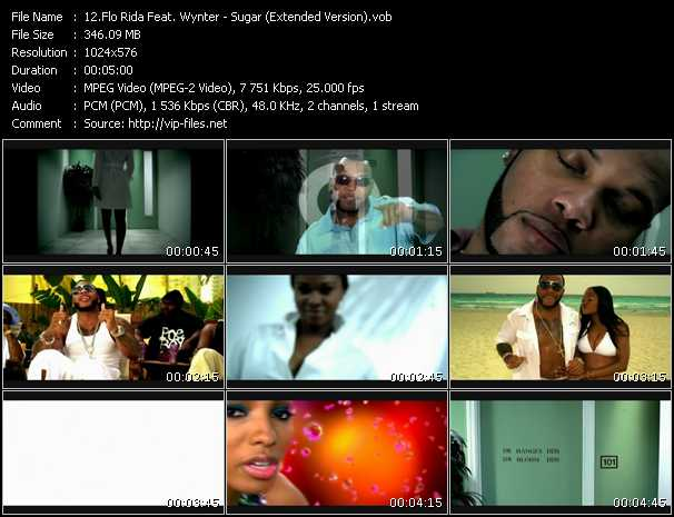 Flo Rida Feat. Wynter Gordon - Sugar (Extended Version)