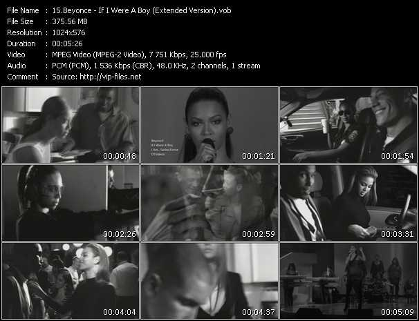 Beyonce - If I Were A Boy (Extended Version)