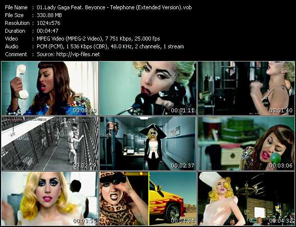 Lady Gaga Feat. Beyonce - Telephone (Extended Version)