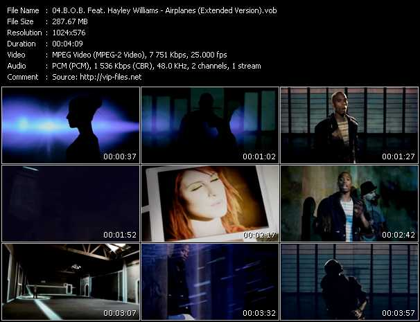 B.O.B. Feat. Hayley Williams (Paramore) - Airplanes (Extended Version)