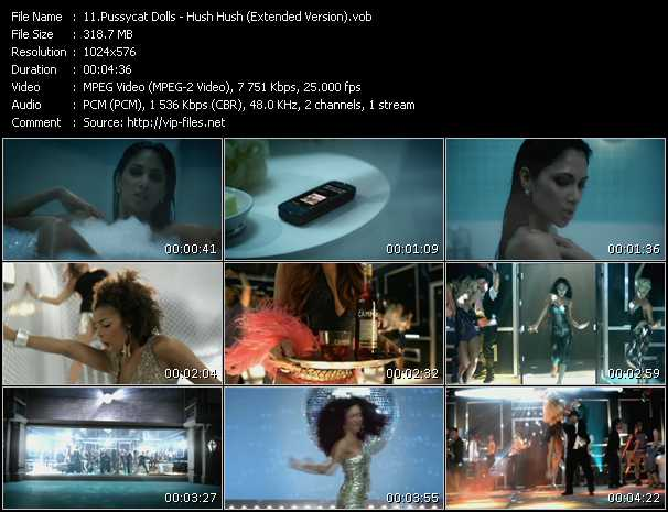 Pussycat Dolls - Hush Hush (Extended Version)