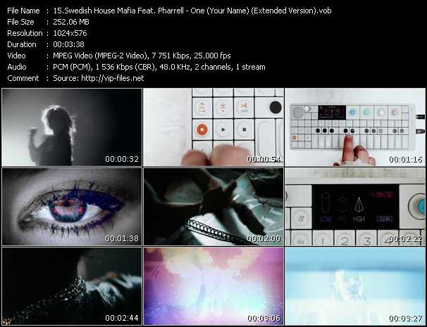 Swedish House Mafia Feat. Pharrell Williams - One (Your Name) (Extended Version)