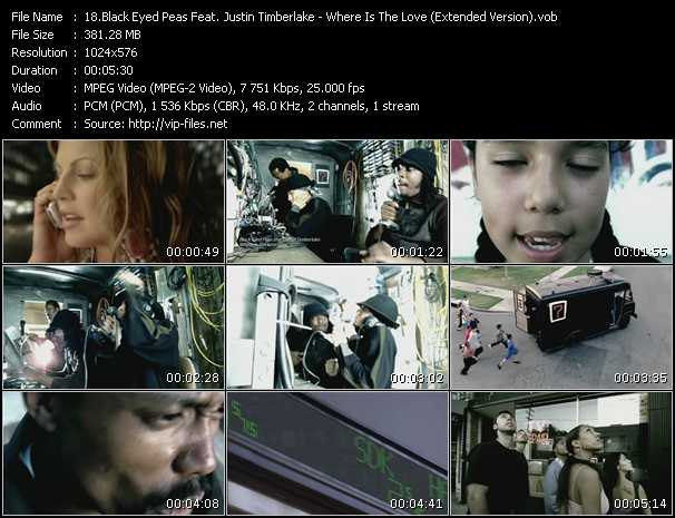Black Eyed Peas Feat. Justin Timberlake - Where Is The Love (Extended Version)