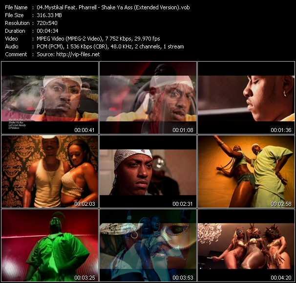 Mystikal Feat. Pharrell Williams - Shake Ya Ass (Extended Version)