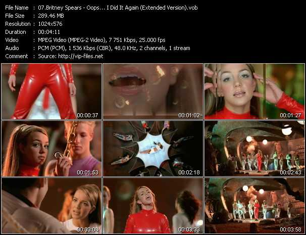 Britney Spears - Oops... I Did It Again (Extended Version)