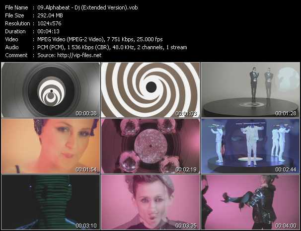 Alphabeat - Dj (Extended Version)