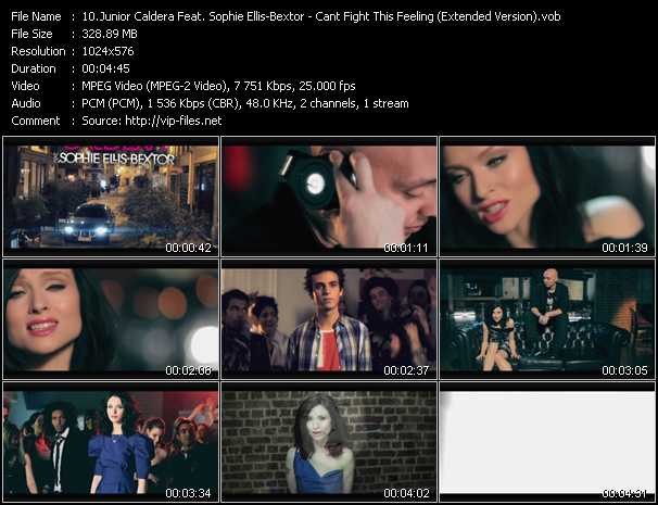 Junior Caldera And Sophie Ellis-Bextor - Can't Fight This Feeling (Extended Version)