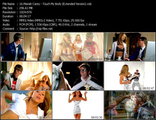 Mariah Carey - Touch My Body (Extended Version)