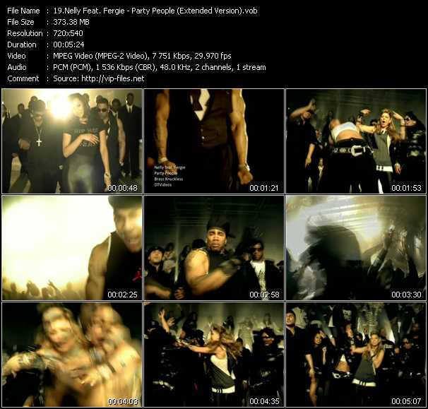 Nelly Feat. Fergie - Party People (Extended Version)
