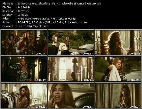 Beyonce Feat. Ghostface Killah - Irreplaceable (Extended Version)