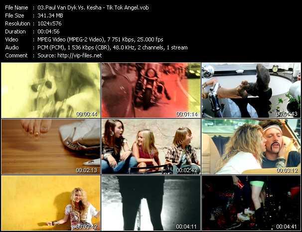 Paul Van Dyk Vs. Kesha - Tik Tok Angel