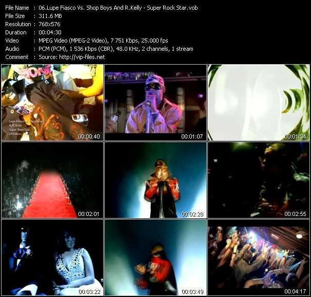 Lupe Fiasco Vs. Shop Boyz And R. Kelly - Super Rock Star