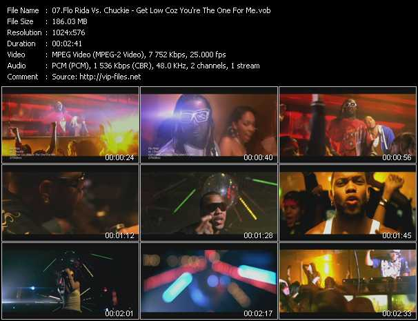 Flo Rida Vs. Chuckie - Get Low Coz You're The One For Me