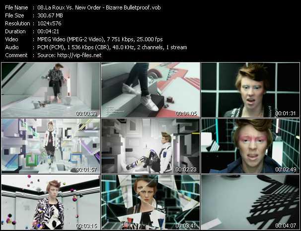 La Roux Vs. New Order - Bizarre Bulletproof
