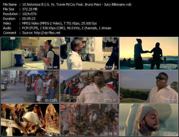 Notorious B.I.G. Vs. Travis McCoy Feat. Bruno Mars - Juicy Billionaire
