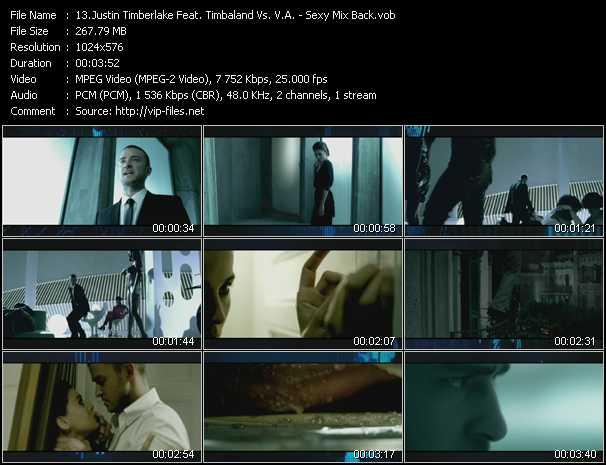 Justin Timberlake Feat. Timbaland Vs. V.A. - Sexy Mix Back