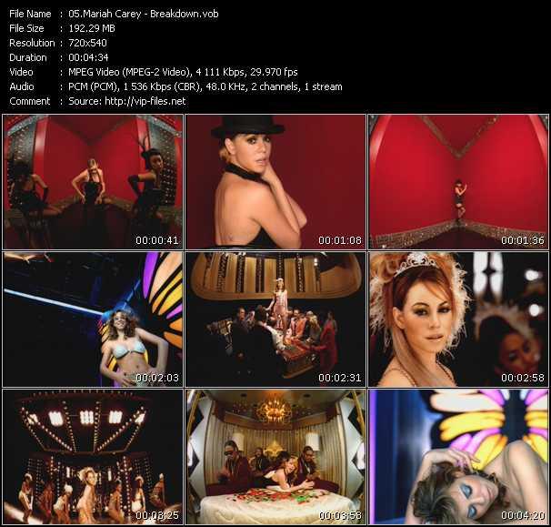 Mariah Carey - Breakdown