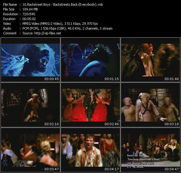Backstreet Boys - Backstreets Back (Everybody)