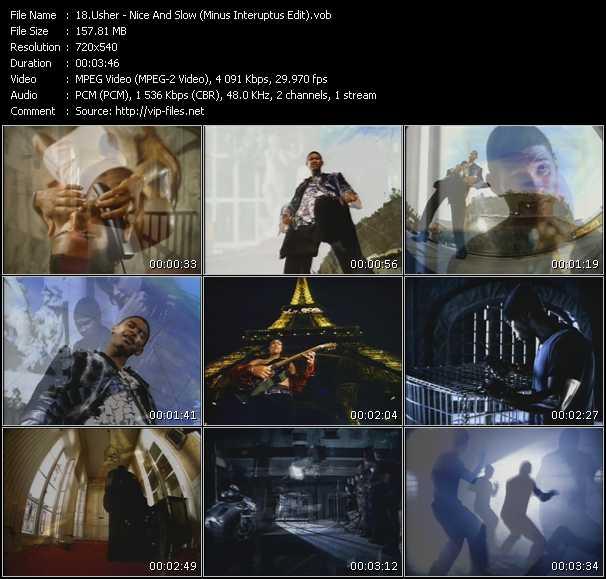 Usher - Nice And Slow (Minus Interuptus Edit)