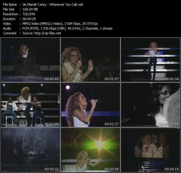 Mariah Carey - Whenever You Call