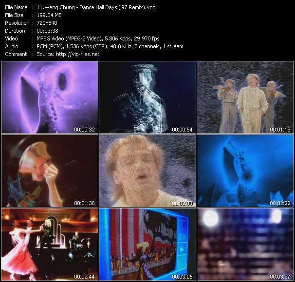 Wang Chung - Dance Hall Days ('97 Remix)