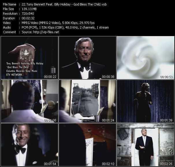 Tony Bennett Feat. Billy Holiday - God Bless The Child