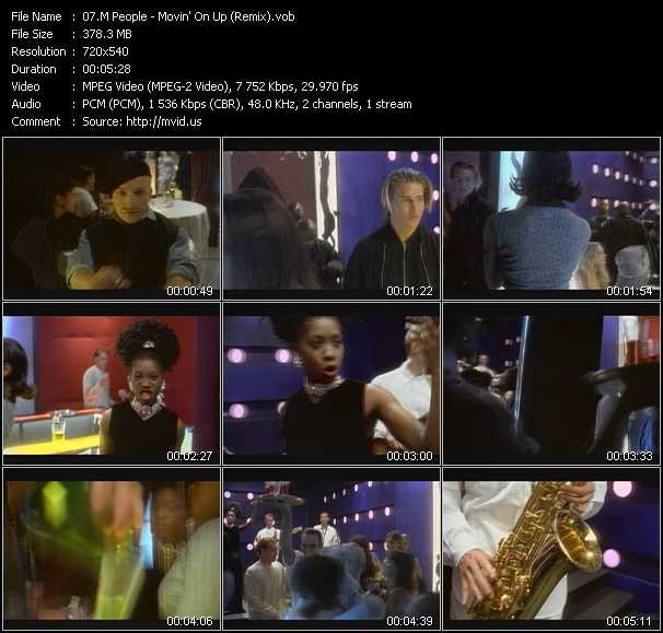 M People - Movin' On Up (Remix)