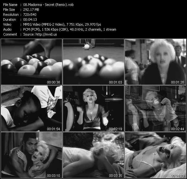 Madonna - Secret (Remix)