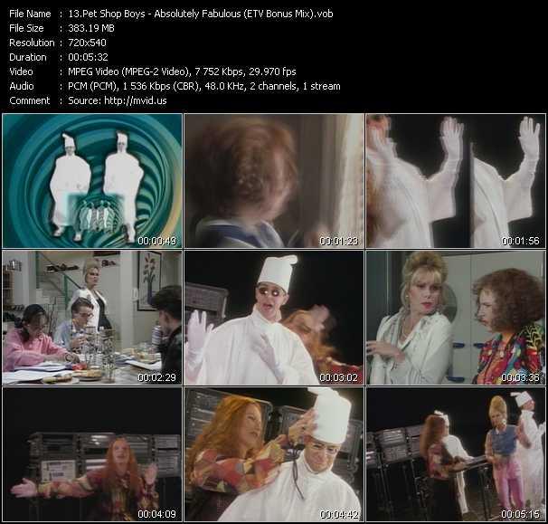 Pet Shop Boys - Absolutely Fabulous (ETV Bonus Mix)