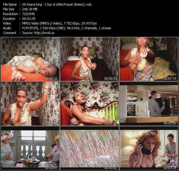 Diana King - I Say A Little Prayer (Remix)
